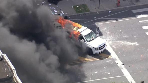 Federal indictments announced in Philadelphia police vehicle arsons amid riots back in May