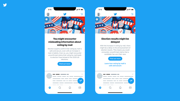 Twitter launches 'pre-bunk' feature to combat misinformation ahead of 2020 election