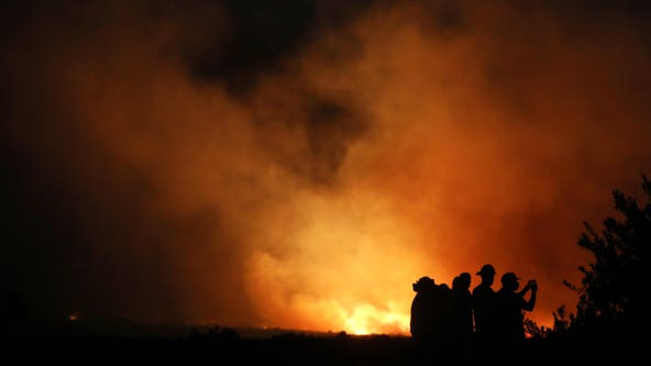Southern California wildfires: Wind-driven blazes drive thousands to flee