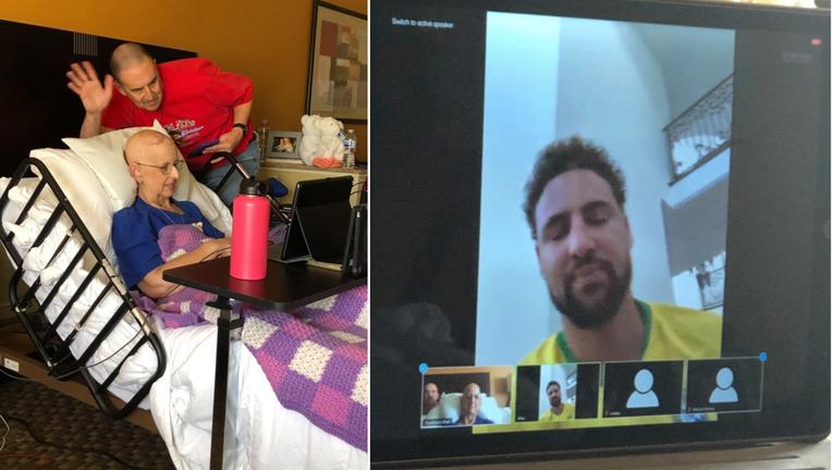 Klay Thompson virtual call