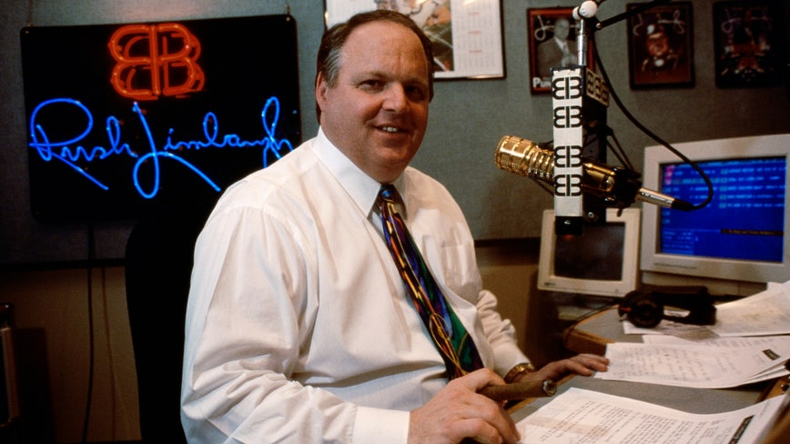 Cancer-stricken Rush Limbaugh tells listeners he can no longer deny he's 'under a death sentence'