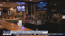 Pennsylvania bans on-site alcohol sales at restaurants on Thanksgiving eve