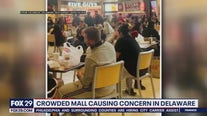Health officials respond to photos of large crowds at Christiana Mall