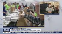 MANNA volunteers hard at work again on Thanksgiving