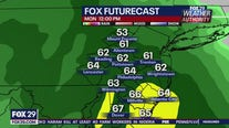 Weather Authority: Overnight clouds leads to Monday washout