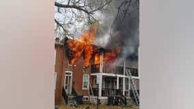 1 dead, 1 hospitalized after fire tears through home in Wilmington