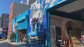 Philadelphia artist paints mural for healing after election's deep divisions