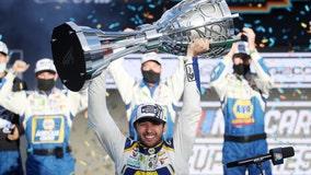 Chase Elliott wins first NASCAR title