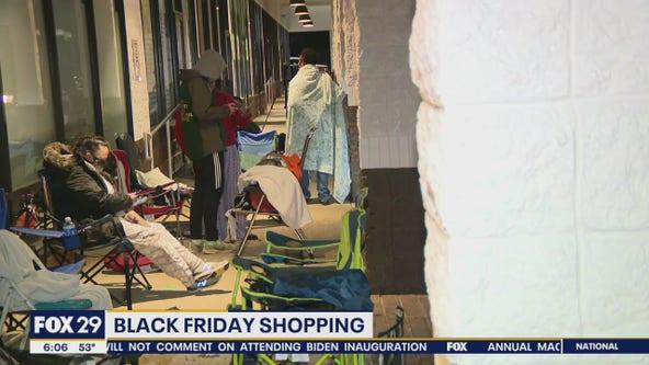 Black Friday shoppers brave pandemic for deals