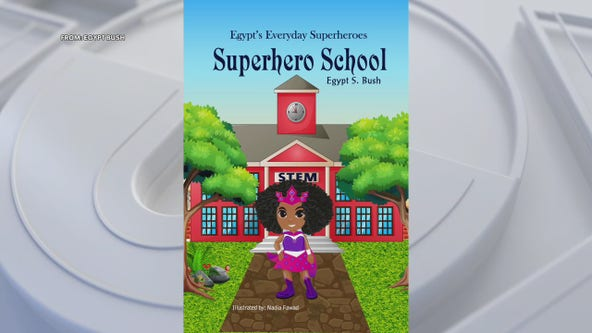 After missing weekly trips to the library, 6-year-old pens her own book