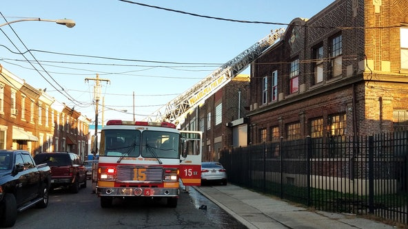 No injuries reported following 2-alarm fire at warehouse in Bridesburg