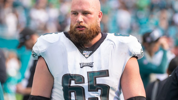 Eagles OT Lane Johnson to miss remainder of season with ankle injury