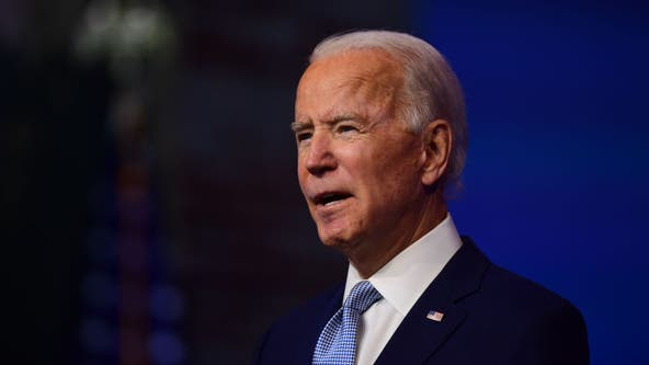 Biden delivers Thanksgiving address seeking US unity