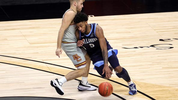 No. 3 Villanova opens with 76-67 win over Boston College