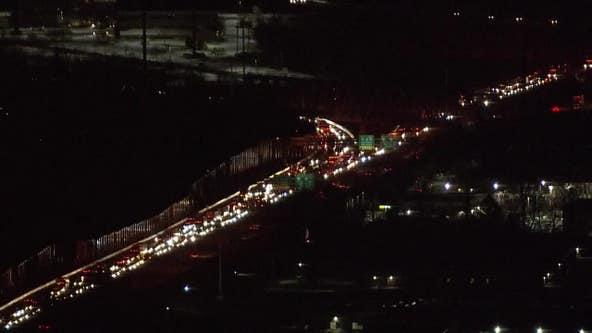 Eastbound lanes of I-76 closed at Gulph Mills after overnight crash