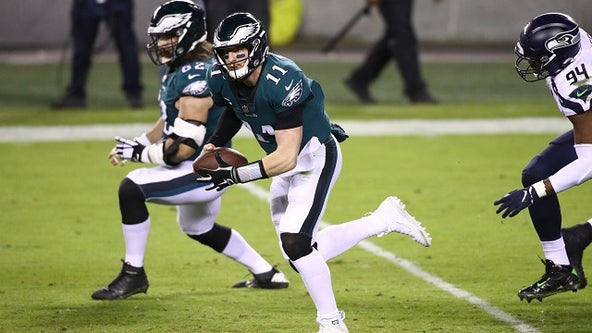 Metcalf, Wilson lead Seahawks over Eagles 23-17