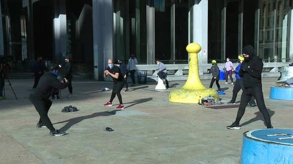 Philadelphia Fitness Coalition protests second shutdown of indoor activities