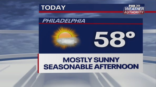 Weather Authority: Breezy Wednesday with sun and clouds