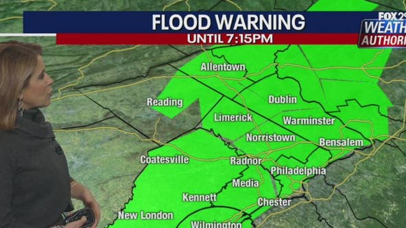 Weather Authority: Tornado watch issued for most of Delaware Valley