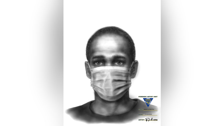 Police share sketch of man accused of assault, attempted kidnapping in Cherry Hill