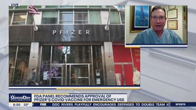 Dr. Mike weighs in on FDA panels recommendation of Pfizer's COVID-19 vaccine