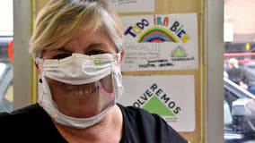 Face masks make it difficult for deaf people to communicate