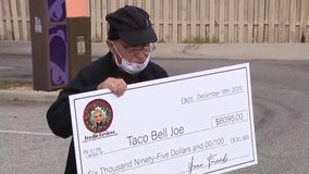 Community gifts beloved 'Taco Bell Joe' with big tip for the holidays