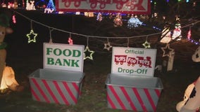 NJ family uses Christmas lights display to give back to those in need