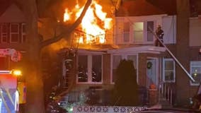 8 people, including 4 children, hospitalized following fire in Lawncrest