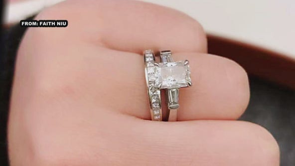 Woman offering reward for ring lost in King of Prussia Town Center store