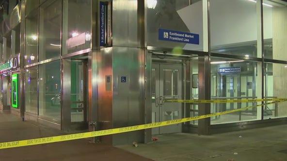 Police: Man shot during fight inside Center City SEPTA station