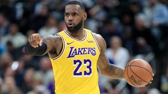LeBron James signs $85 million extension for two more years with the Lakers