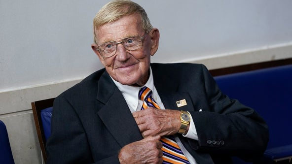 President Trump awards Presidential Medal of Freedom to Lou Holtz