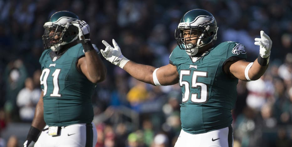 Brandon Graham selected to first Pro Bowl alongside fellow Eagles Cox, Kelce