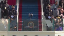 Jennifer Lopez performs for the Inauguration ceremony