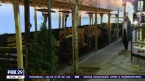 Outdoor diners brave frigid temperatures during pandemic