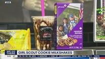 Girl Scout Cookie Milkshakes