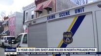 Police: 9-year-old girl fatally shot inside home in North Philadelphia
