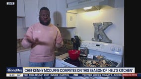 Chef Kenny McDuffie competes on newest season of Hell's Kitchen