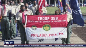 Local Boy Scout troop takes part in historic Inauguration Day