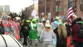 Group of Mummers march in South Philadelphia to defy Kenney, parade cancellation