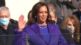 Kamala Harris sworn in as nation's first female Vice President