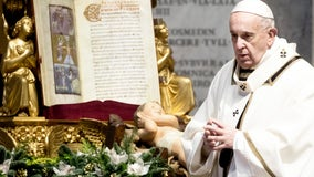 Pope prays for dead in Capitol rioting, appeals for calm