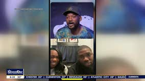 Haircuts 4 Homeless founders surprised by Will Smith in Zoom call