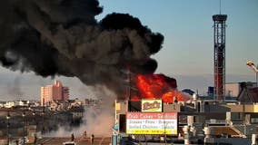 4-alarm fire breaks out on boardwalk in Ocean City, N.J.