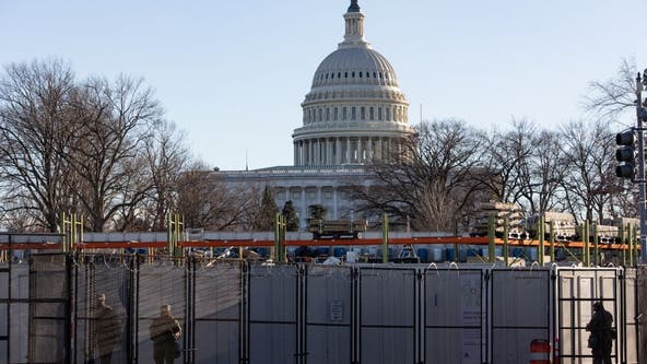 Washington, D.C. on lockdown, on edge with unmatched security for Inauguration Day 2021