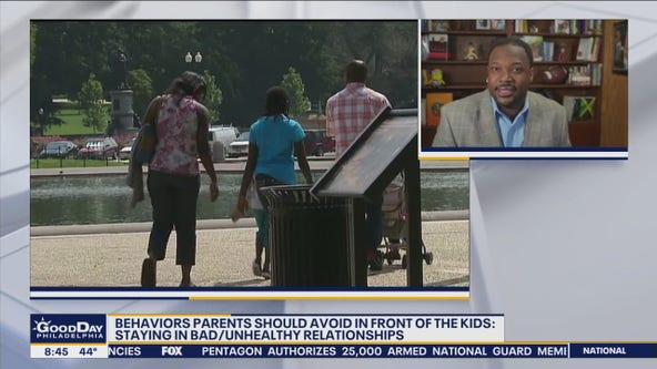 Behaviors parents should avoid in front of kids