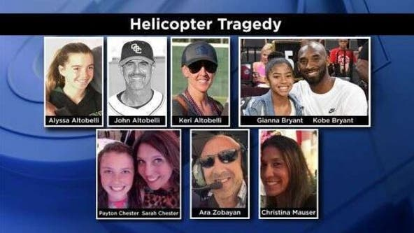 One Year Later: Honoring the 9 victims of the Calabasas helicopter crash
