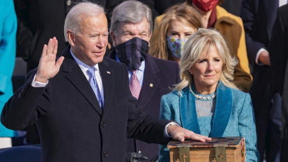 Inauguration Day 2021: Biden placed hand on same family Bible used during his VP, Senate swearing-in
