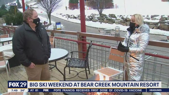 Bear Creek Mountain Resort prepares for big skiing weekend